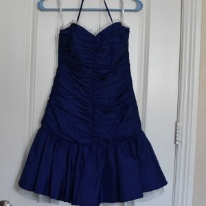 Betsey Johnson Formal Royal Blue Dress